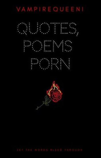 Quotes, Poems Porn