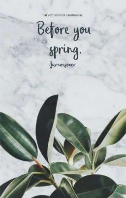❁;;- Before You Spring